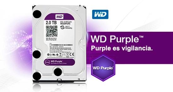 Ổ cứng HDD 2TB Western Digital Purple 3.5