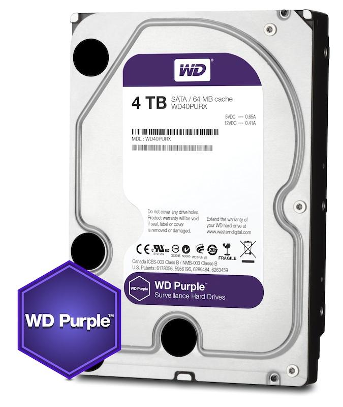 Ổ cứng HDD 4TB Western Digital Purple 3.5