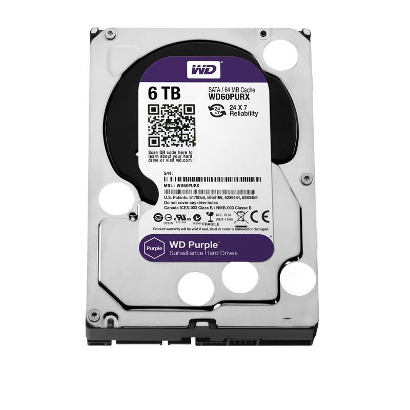 Ổ cứng HDD 6TB Western Digital Purple 3.6