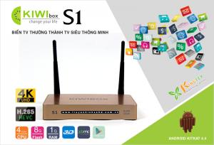 Smart Android TV Box Kiwi S1 Chính hãng